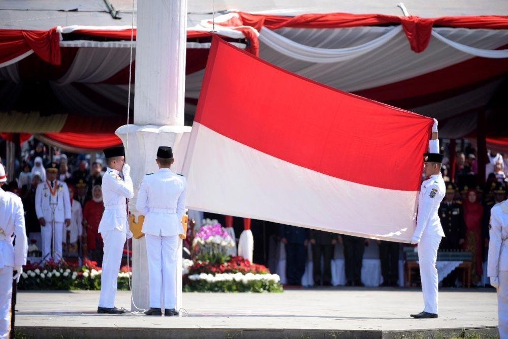 Peringati HUT ke-74 RI, Ridwan Kamil Paparkan Pembangunan Jabar