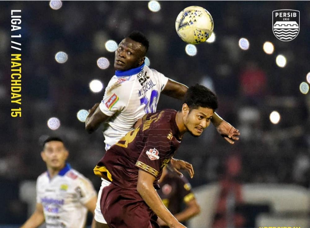 Resmi! Bhayangkara FC Pinjam Ezechiel N'Douassel dari Persib
