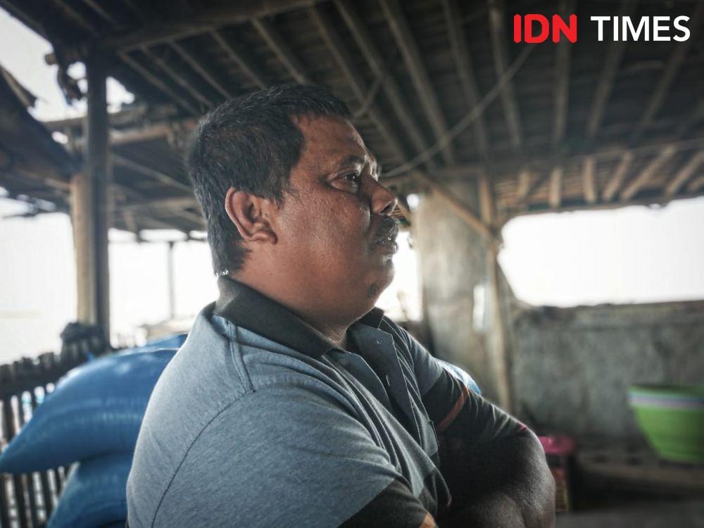 Perjuangan Warga Kamal Muara, Mencari Air Bersih di Musim Kemarau