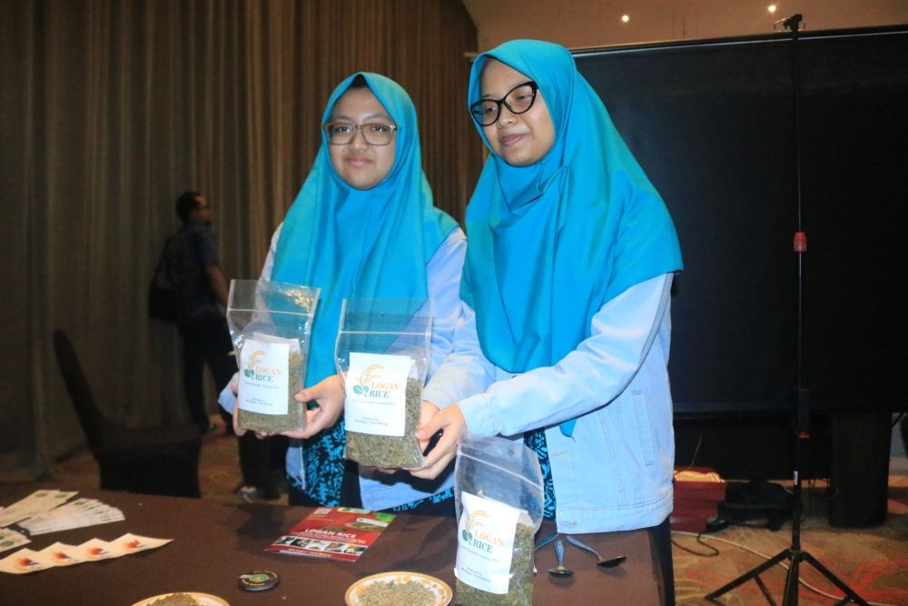 Logan Rice, Inovasi Nasi Berbahan Tepung Ganyong MTSN 1 Kota Malang