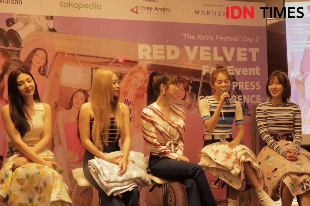 Sapa Fans Indonesia Lagi, Red Velvet Beberkan 10 Rahasia Ini