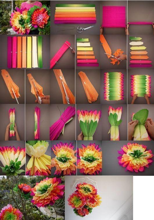 7 DIY Dekorasi Bunga Kertas Paling Gampang, Gak Perlu Skill Khusus Nih