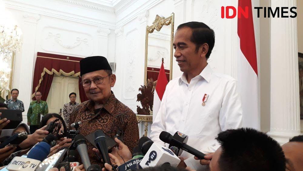 Perjalanan Manis Jokowi-Habibie, dari Istana hingga RSPAD