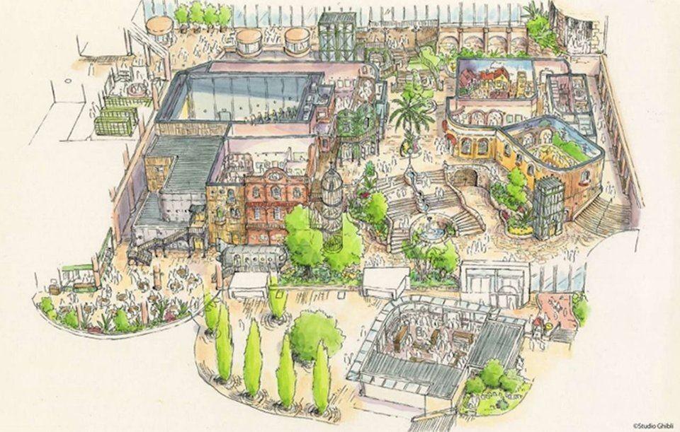 Taman Bermain Studio Ghibli Bakal Dibuka di Jepang, Ada Apa Saja?