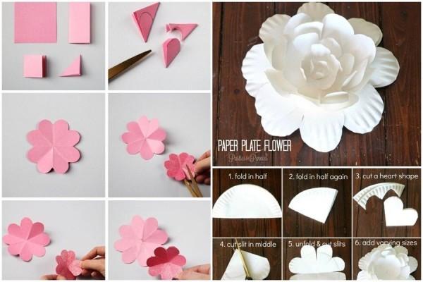 7 Diy Dekorasi Bunga Kertas Paling Gampang Gak Perlu Skill