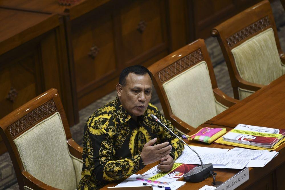 Ketua KPK Terpilih Irjen Firli Dilantik Jadi Kabaharkam Polri