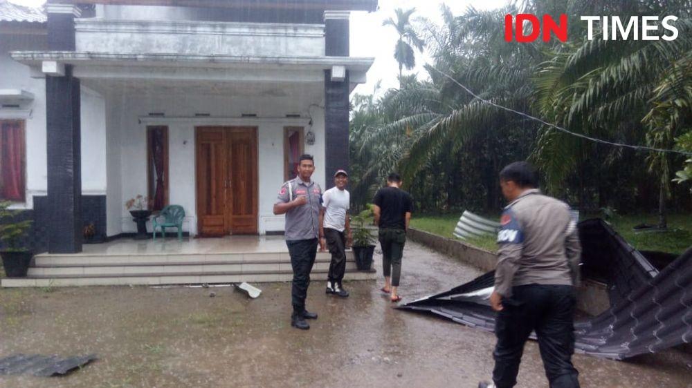 Dampak Angin Kencang di Kota Cimahi Dirasakan 152 Jiwa