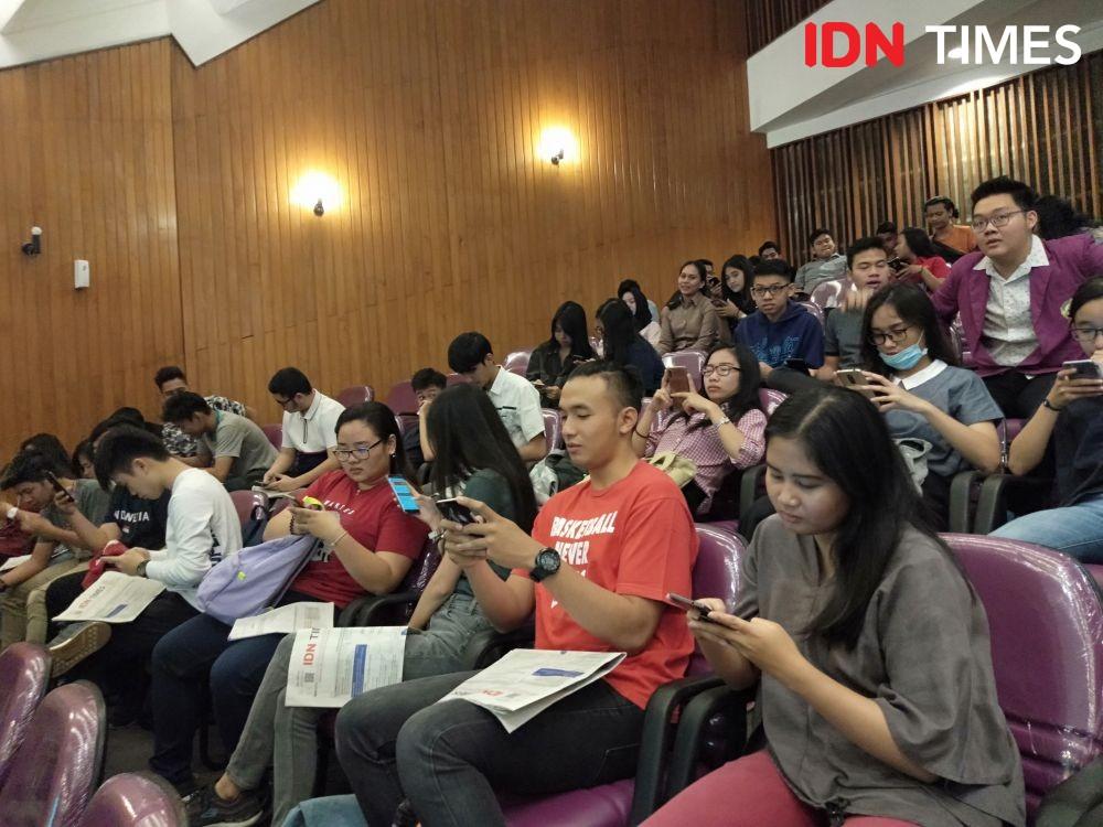 Begini Serunya Millennial Serbu Lokasi Roadshow IDN Times di Unika