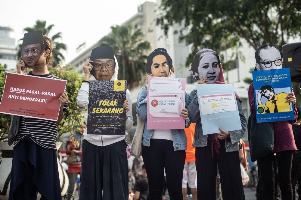 Dewan Pers Nilai RUU KUHP Mengungkung Kebebasan Pers