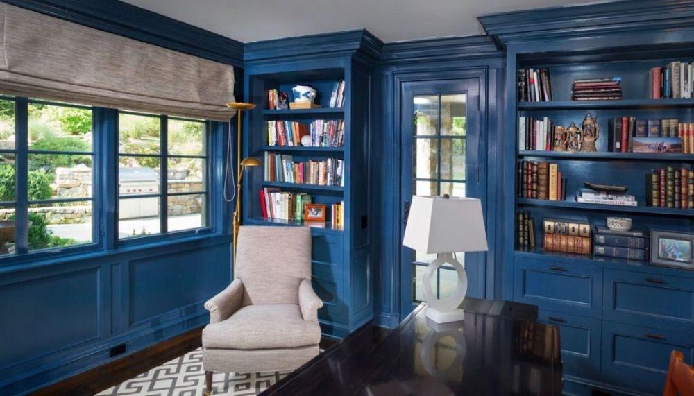 Adem & Nyaman! Desain Perpustakaan Rumah Ini Cocok Bagi Pencinta Buku