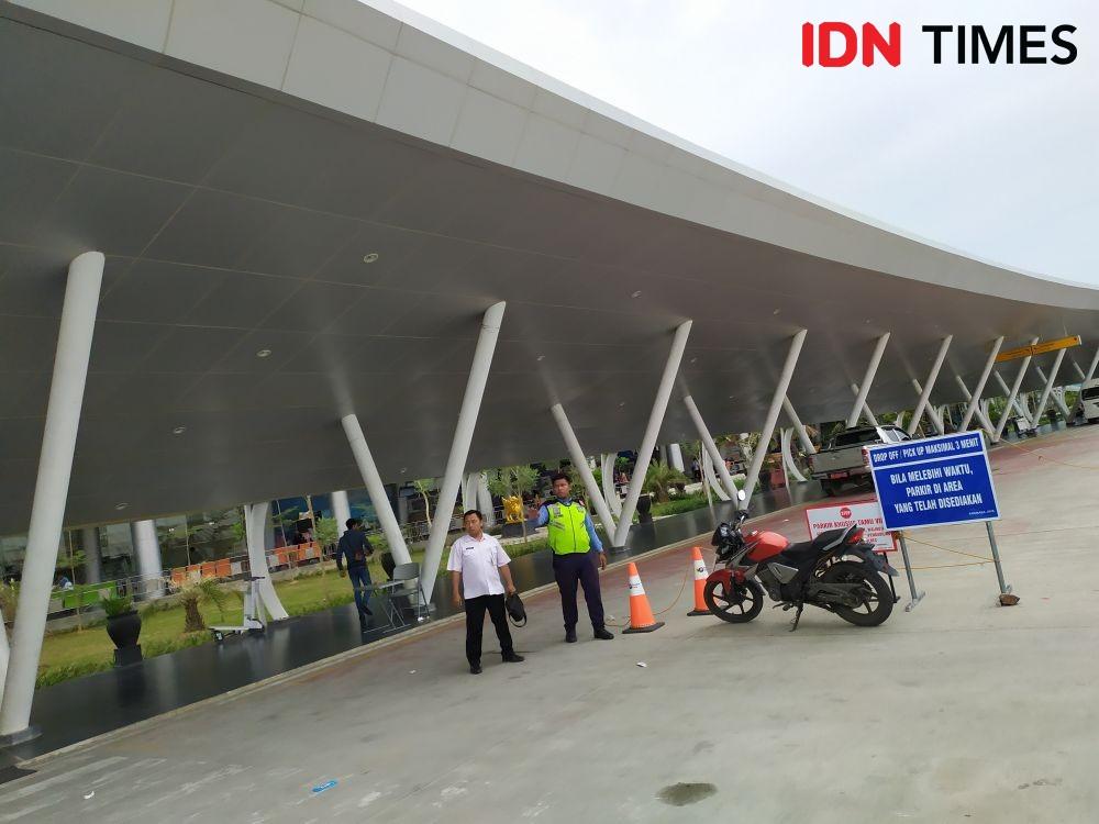 Bandara APT Pranoto Tutup 26 Hari, Tenant Bakal Rugi Ratusan Juta