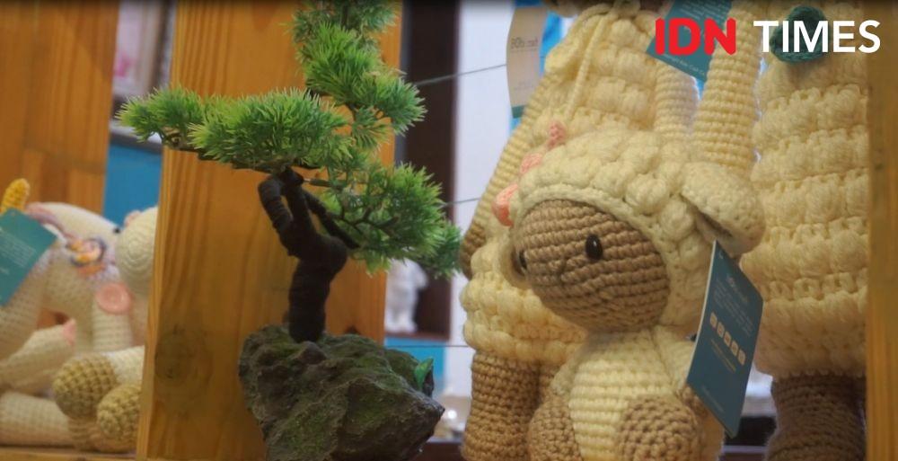 Boneka Rajut Jepang Amigurumi ala Medan yang Jadi Peluang Bisnis