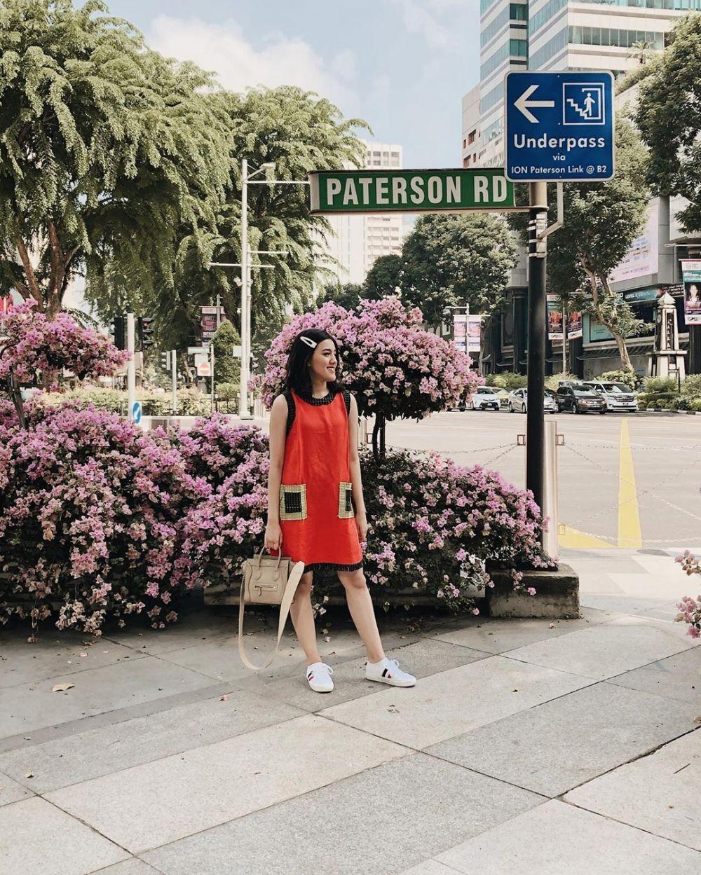 OOTD ala Ify Alyssa untuk Malam Minggu, Dominasi Dress yang Manis