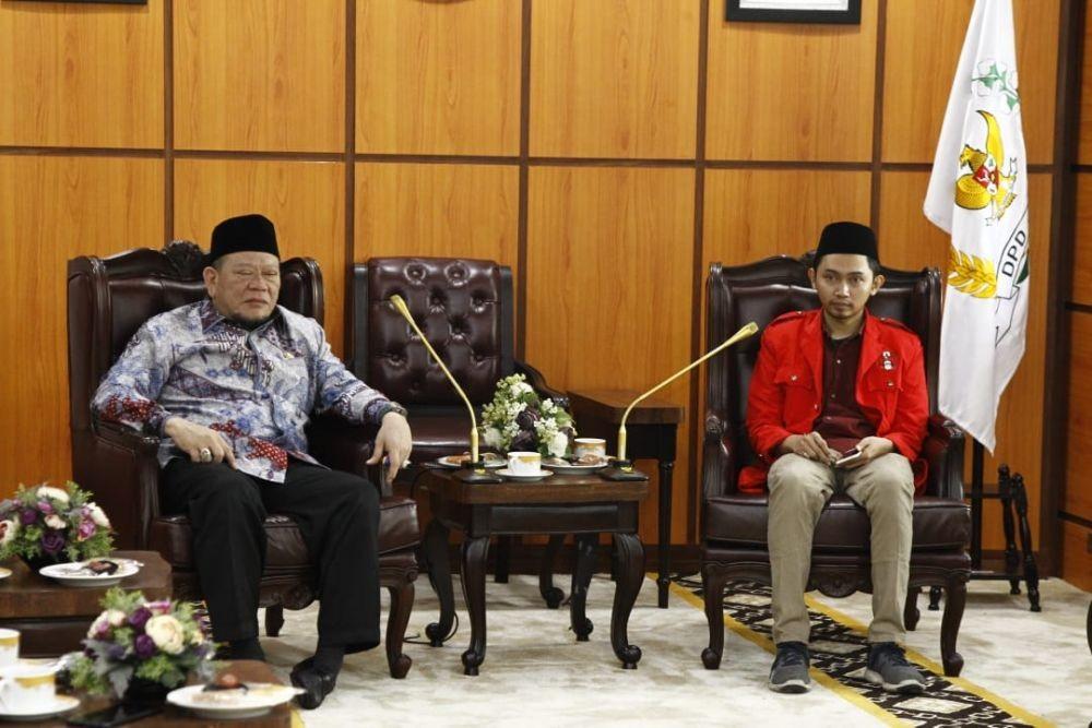 Ketua DPD RI Ajak Mahasiswa Berpartisipasi Bangun Daerah