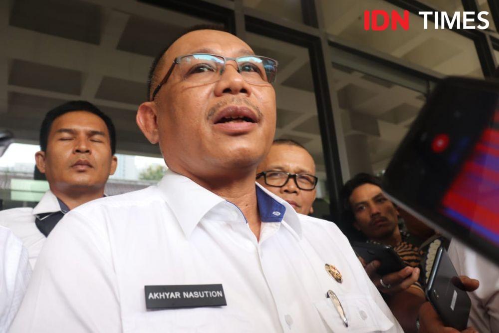 Staf Protokol Walkot Medan Nyaris Tabrak Penyidik KPK Saat OTT