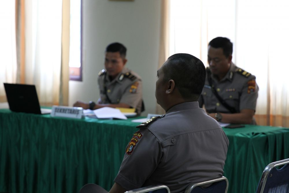 Polda Banten Cari Personel yang Banting Mahasiswa di Tangerang