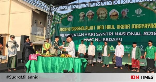 Peringatan Hari Santri Nu Ribuan Santri Di Bantul Gelar Peringatan Hari Santri Nasional 2019