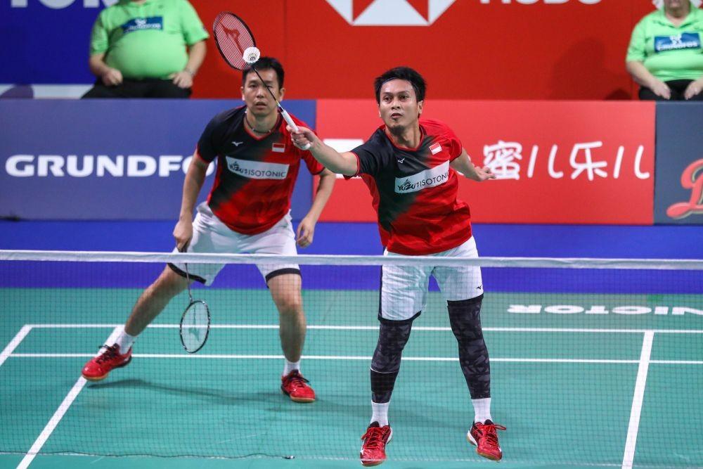 Thailand Open 2021: Hendra/Ahsan Terhenti di Perempat Final