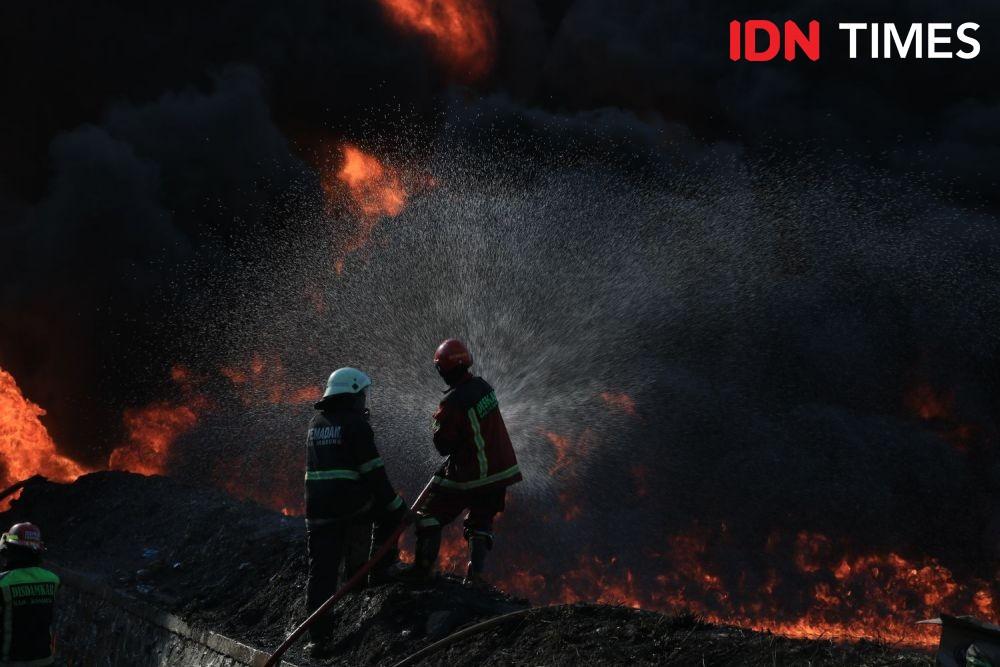 Gedung Hailai Ancol Kebakaran Hampir 4 Jam, BeginiKronologinya