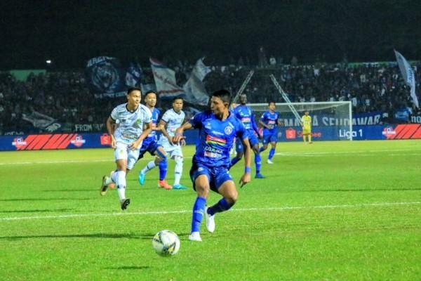 Pecah Telurnya Penyerang Lokal Arema FC di Liga 1 2021/22