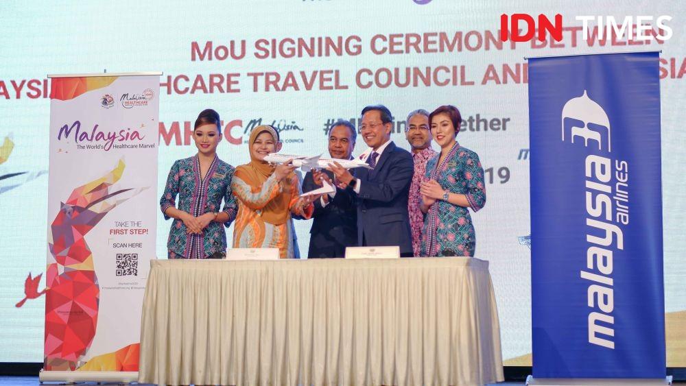 Gandeng Malaysia Healthcare, Turis Negeri Jiran Ditargetkan 30 Juta
