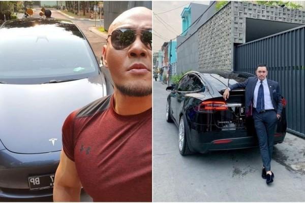 5 Artis Dan Politisi Indonesia Pemilik Mobil Listrik Tesla Canggih