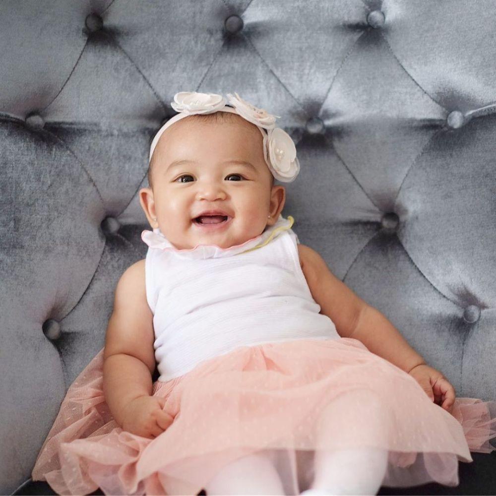 Bayi Artis Paling Menggemaskan, 10 Potret Ekspresif Thania Onsu