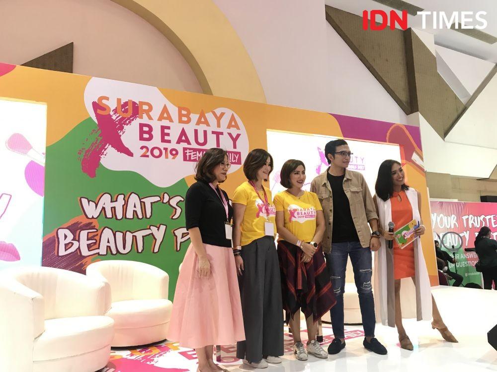 Keseruan Surabaya x Beauty 2019 di Hari Pertama