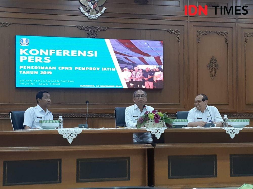 Dibuka Tiga Hari, Pendaftar CPNS Jatim Sudah Tembus 2.362 Orang