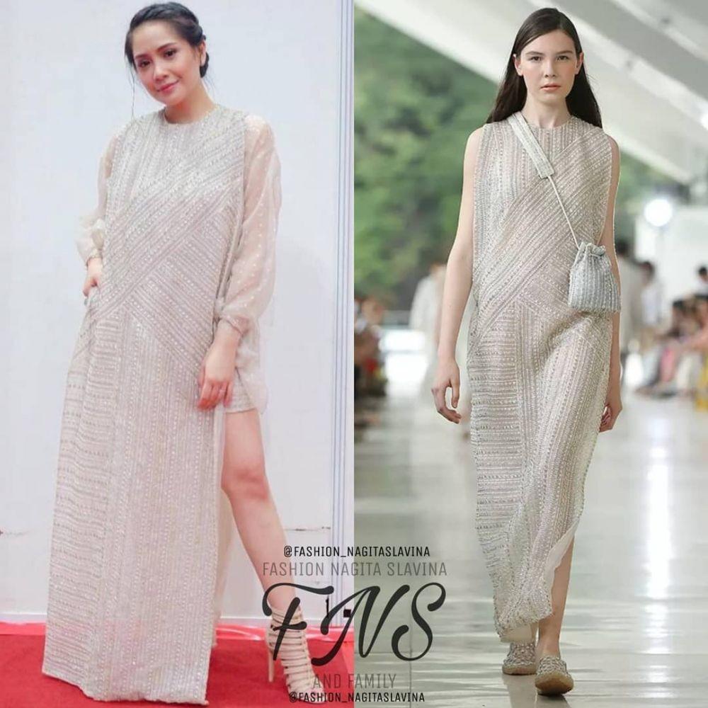 Tampil Sederhana, 10 Harga Outfit Nagita Slavina yang Bikin Melongo!