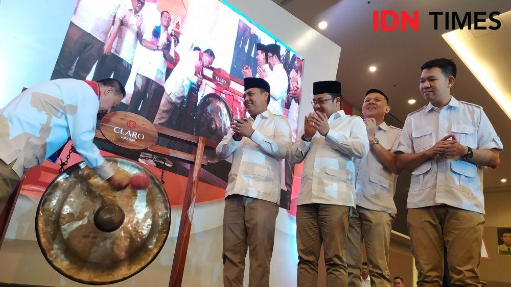 Ketua Baru Gerindra Sulsel Target Menangi 6 dari 12 Pilkada
