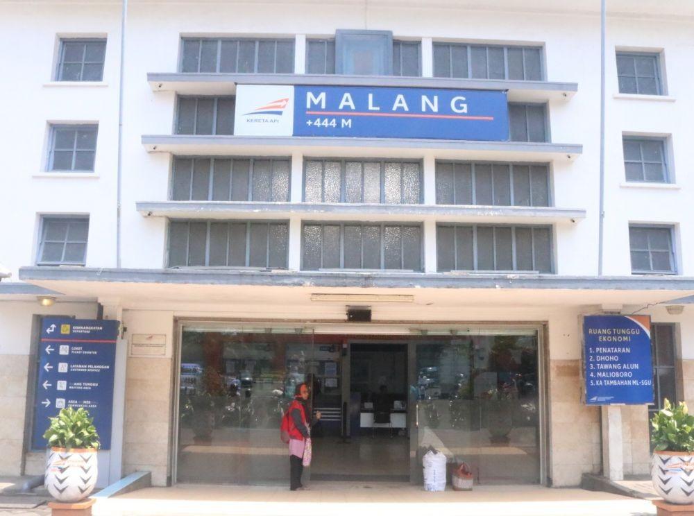 Cuaca Tak Bagus, Pembangungan Stasiun Kota Malang Terancam Molor