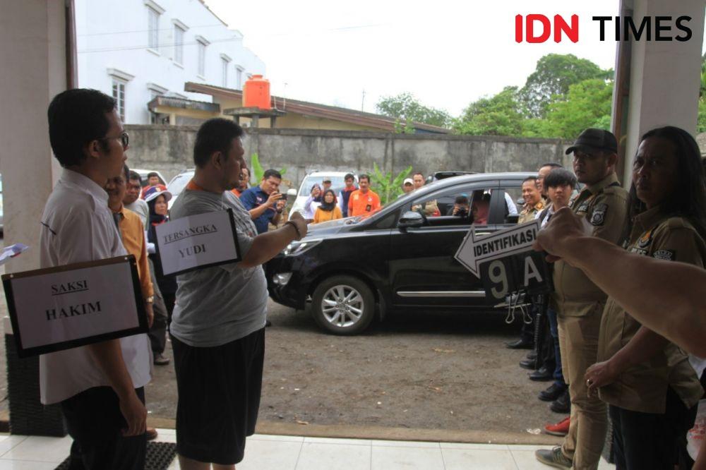 Turun dari Mobil, Pembunuh Sadis di Palembang Ini Langsung Dibogem