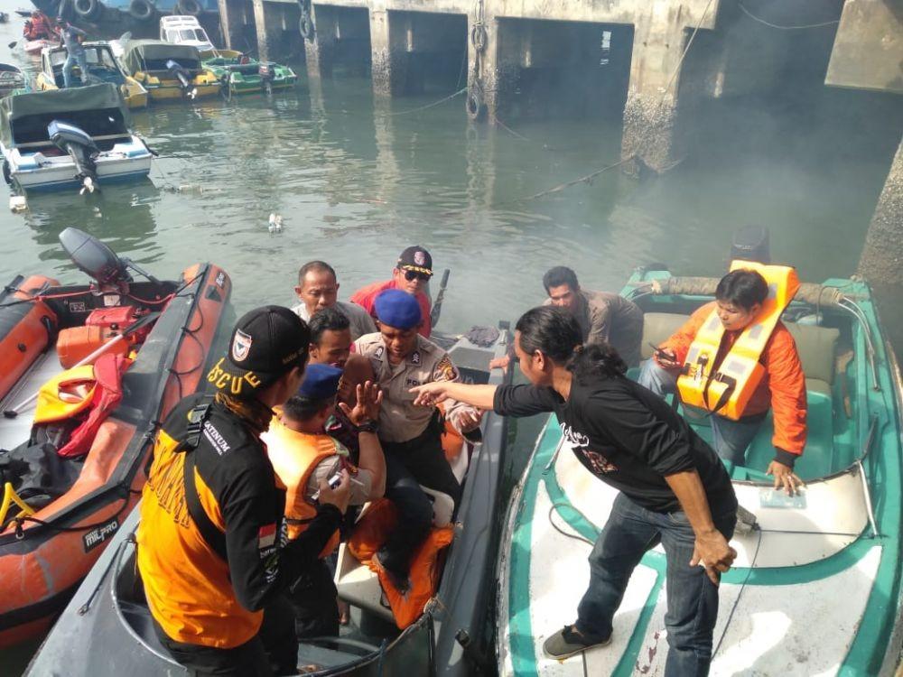 Mau Dibunuh, Pemuda Terjun Bebas ke Laut dariPelabuhan Semayang