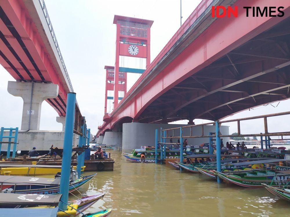 Sungai Musi Alami Pendangkalan, Air Surut Hingga 2 Meter