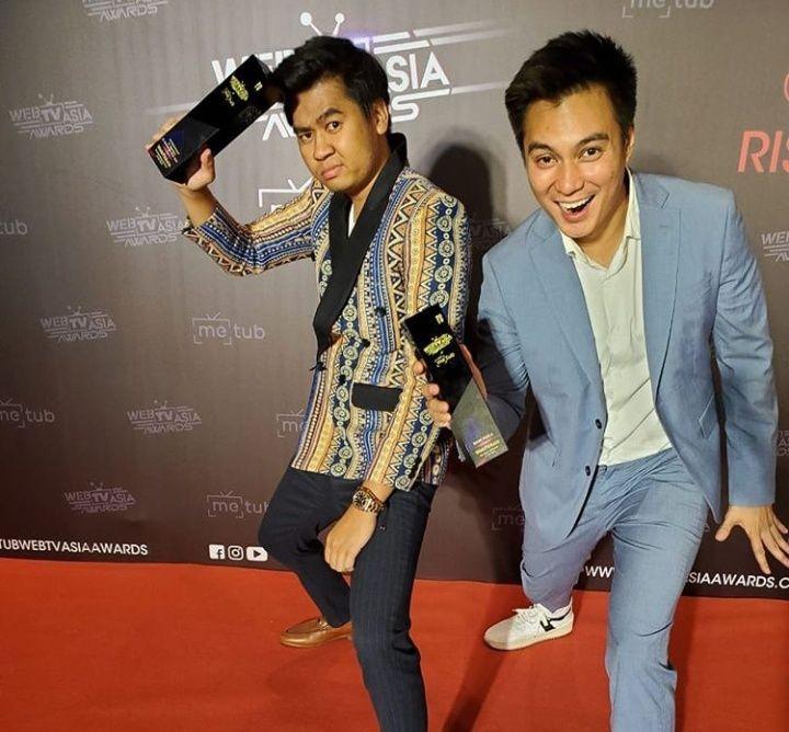 Bangga! Arif Mak Beti Raih Penghargaan WebTV Asia Award di Vietnam