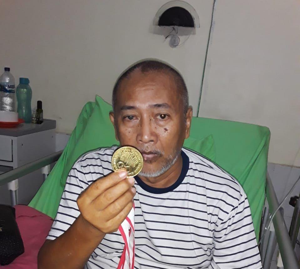 Sugito, Mantan PSMS dan Pahlawan Sumut di PON 1985 Meninggal Dunia