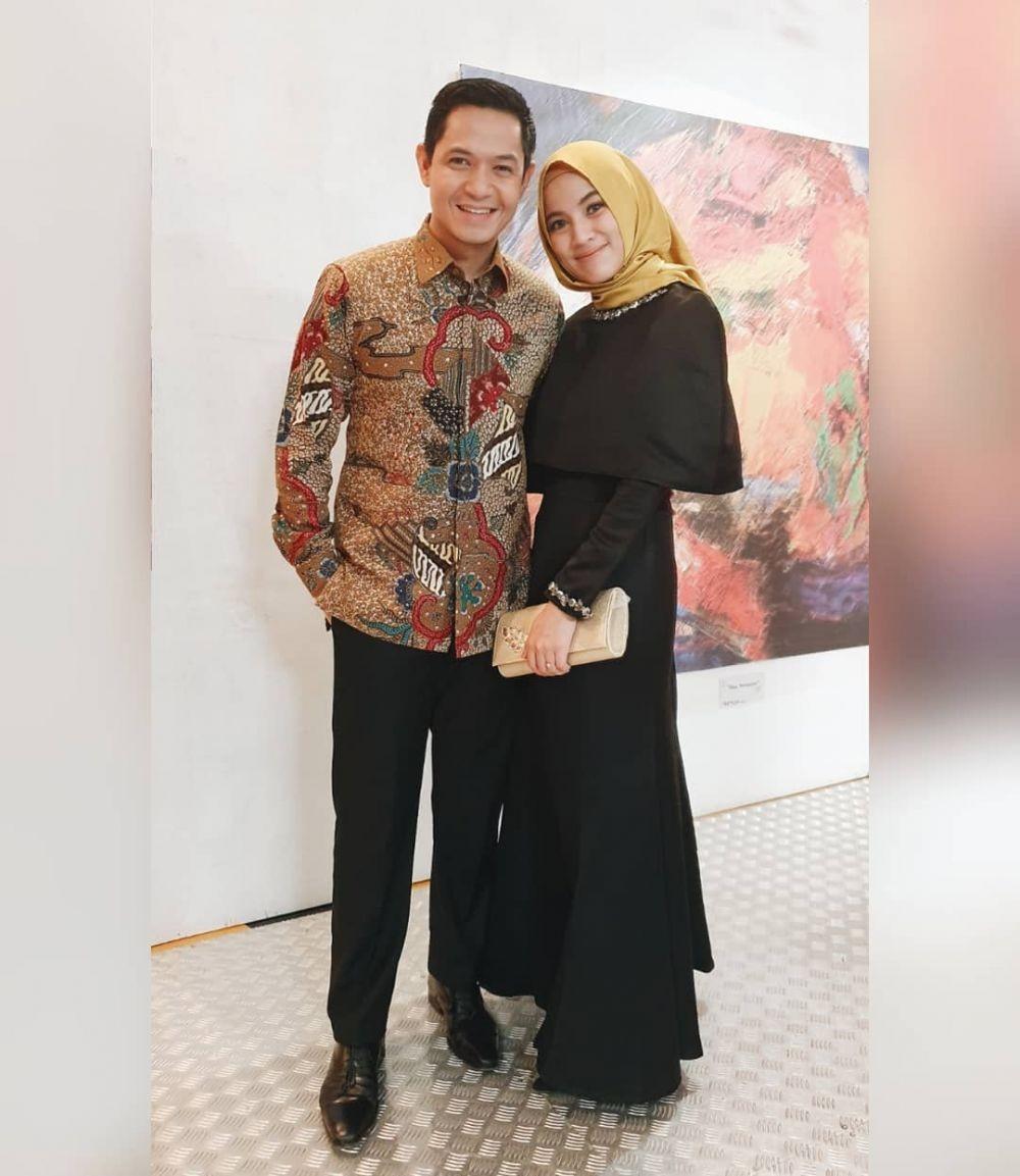 Outfit Pesta Hijab Syari Alyssa Soebandono, Didominasi Warna Pastel
