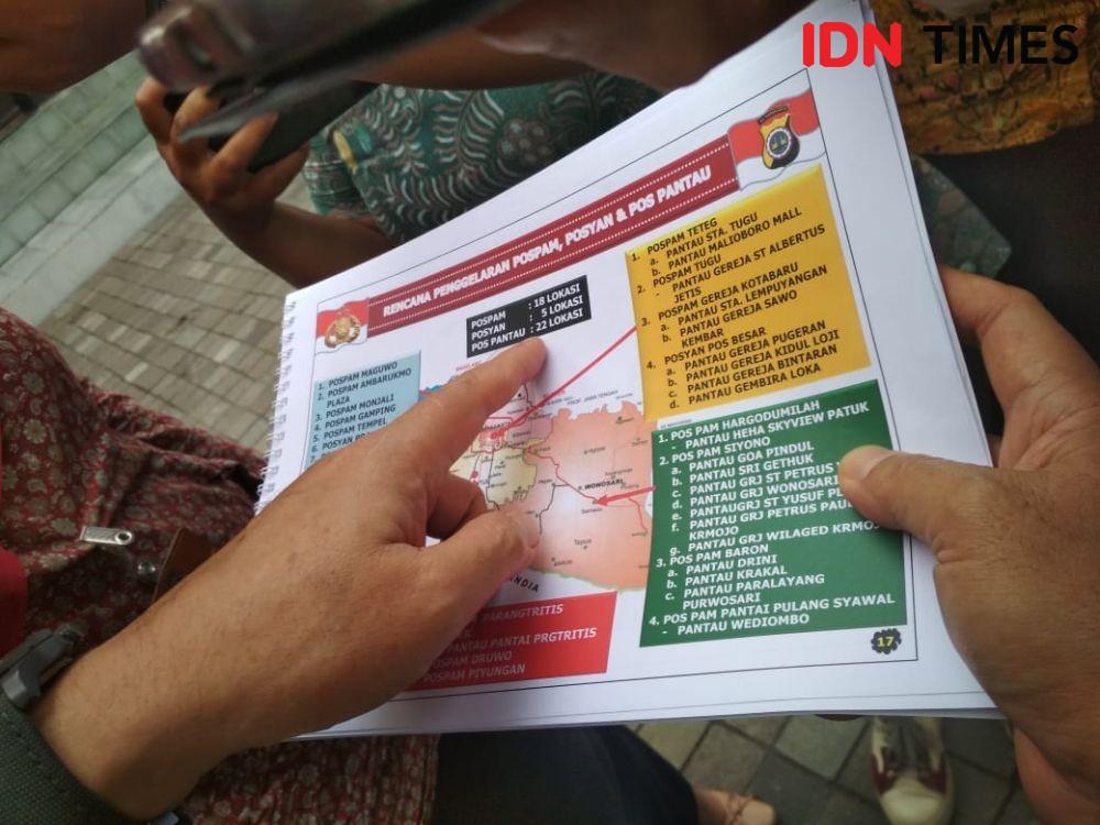 Keamanan Natal dan Tahun Baru, Densus Petakan Wilayah di Yogyakarta