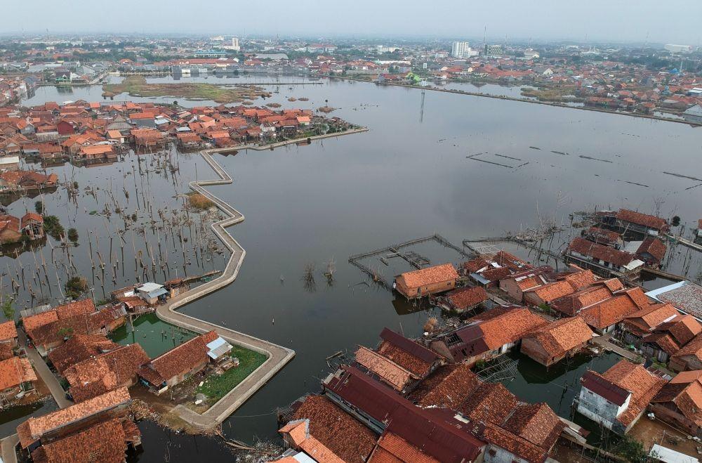 Hati-hati! Gerhana Bulan Total Sebabkan Banjir Rob di Jawa Tengah