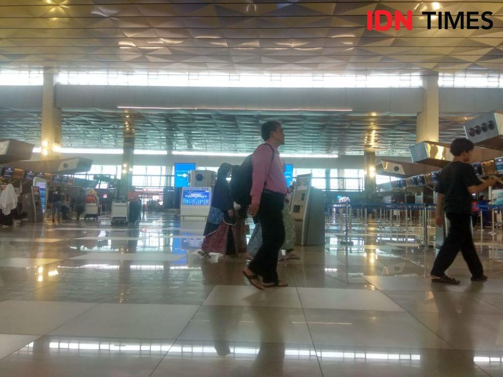 Pegawai Mogok Kerja, Operasional Bandara Soekarno-Hatta Tetap Lancar