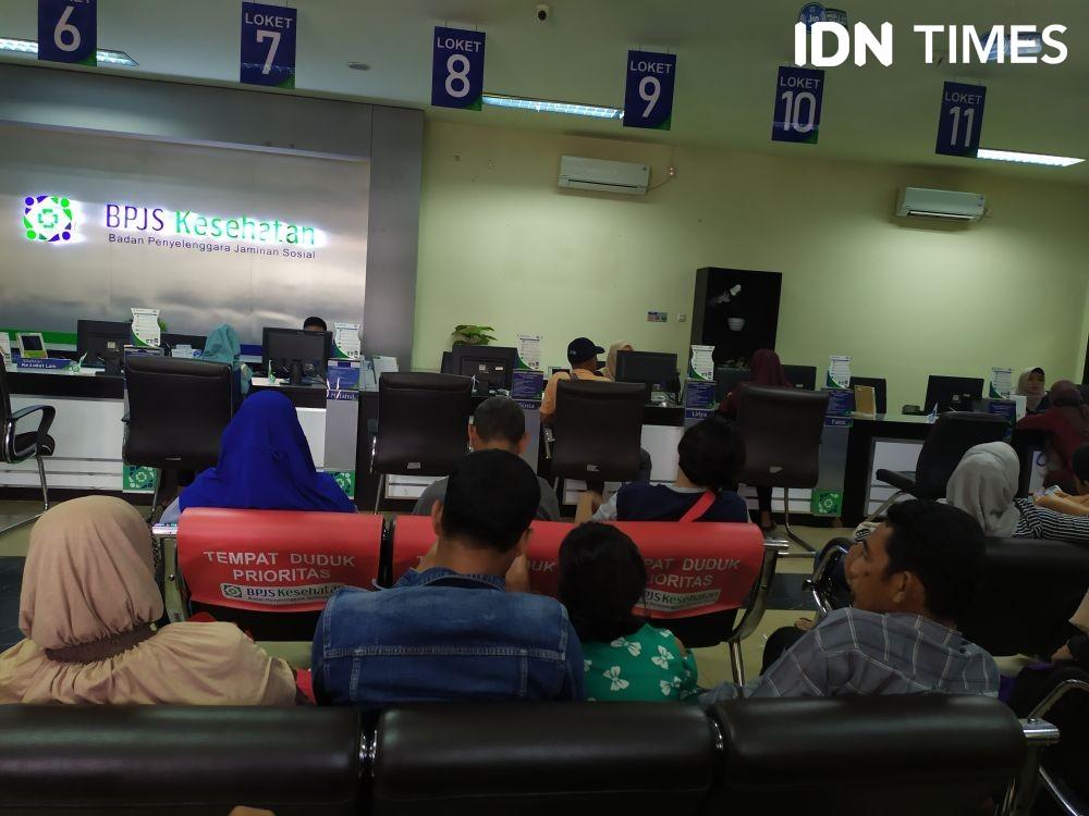 Peserta Mandiri BPJS Kesehatan di Palembang Menunggak Rp181 M