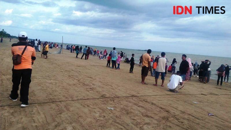 Antisipasi Tsunami KemenPUPR Bangun Pengaman Pantai di Lampung Selatan