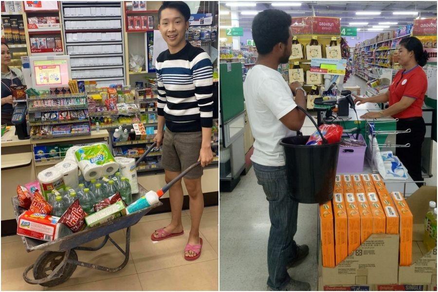 Emak-emak di Makassar Setuju Harga Kantong Kresek Naik karena Cukai