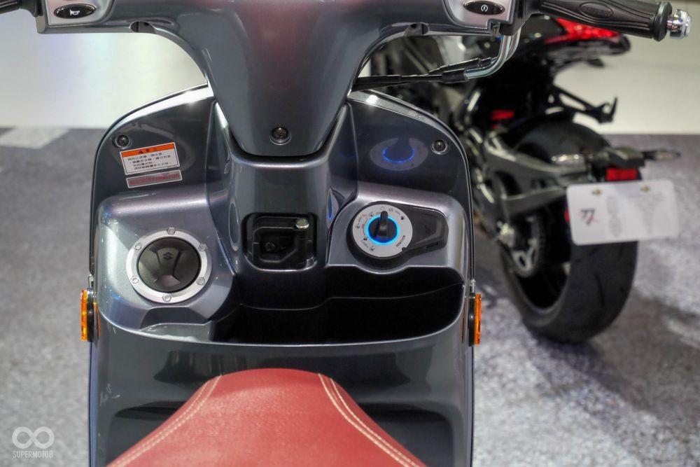 Suzuki Hadirkan Skutik Saluto 125, Kok Mirip Vespa?