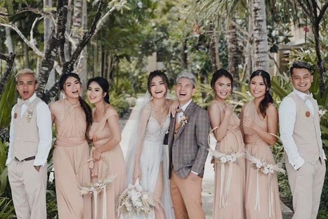 Inspirasi Gaun & Makeup Pernikahan Elisa Novia, Mewah nan Elegan!