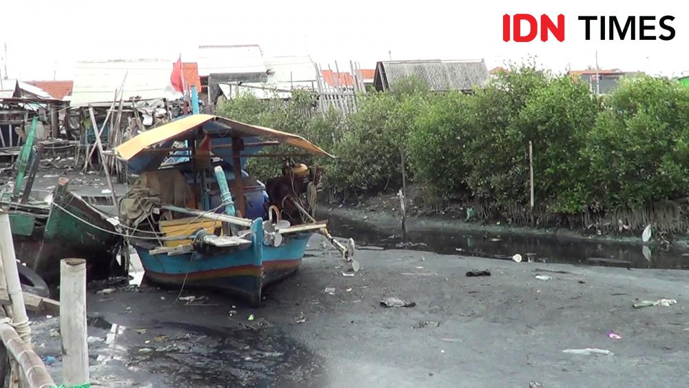 Pendangkalan Kali Bacin di Tegal, Sudah Tiga Wali Kota Tak Teratatasi
