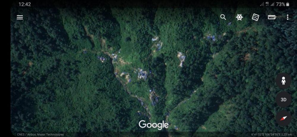 DLHK Banten: Pengawasan Gunung Liman Ada di Pemkab Lebak