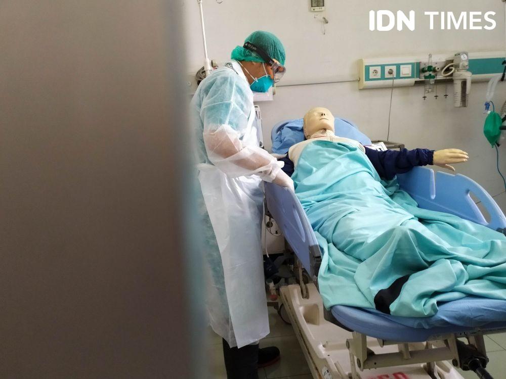 Hindari Penyebaran MERS CoV, RSUP Dr Sardjito Adakan Simulasi