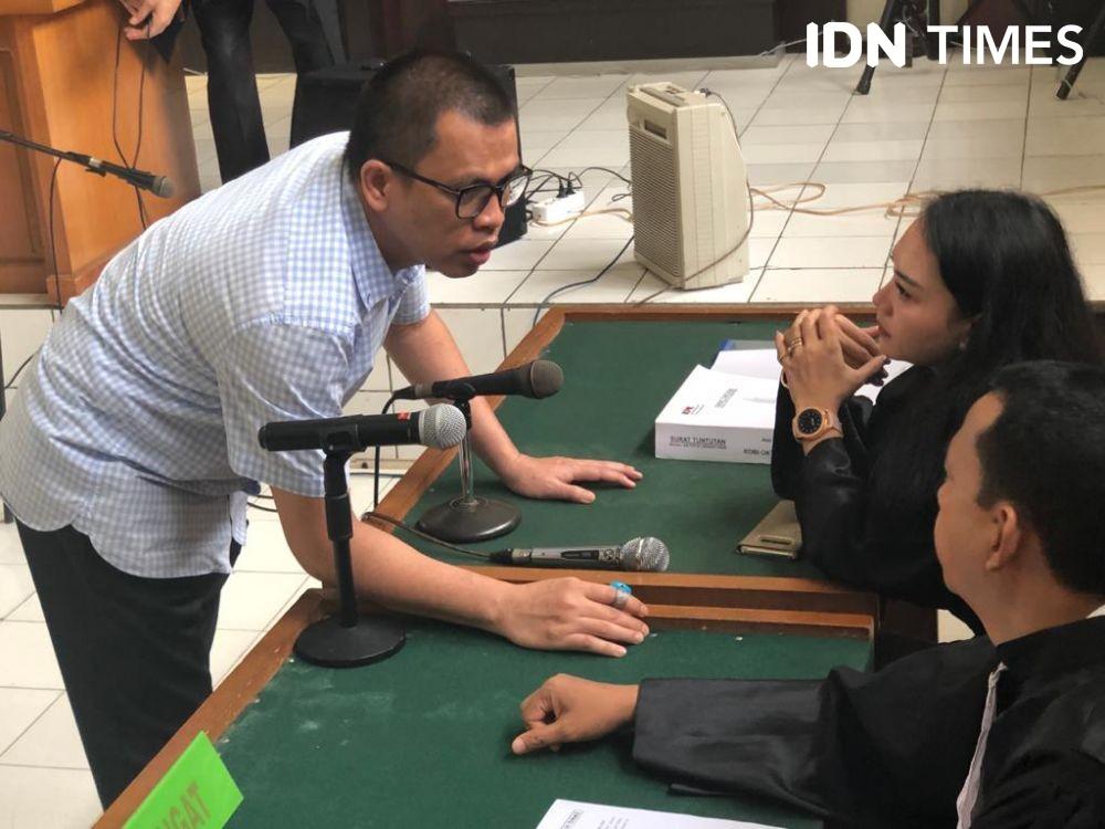 Suap Bupati Muaraenim, Terdakwa Robi Dituntut Hukuman 3 Tahun Penjara